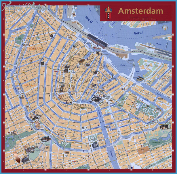 Europe Map Tourist Attractions – Tourist Attractions Map In Amsterdam