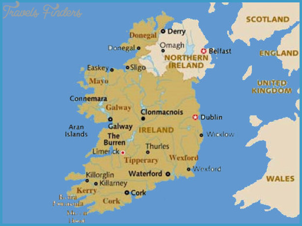 Ireland Map Tourist Attractions – Tourist Map Of Ireland