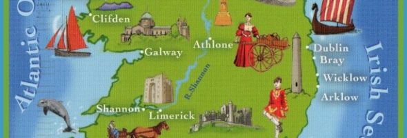 Maps Archives – Map Of Ireland With Tourist Attractions