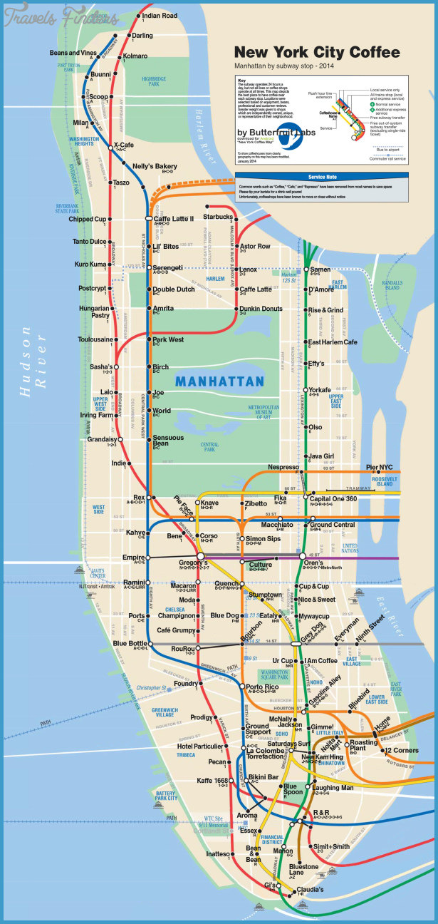 It's just a photo of Bright Printable Map of Manhattan Pdf