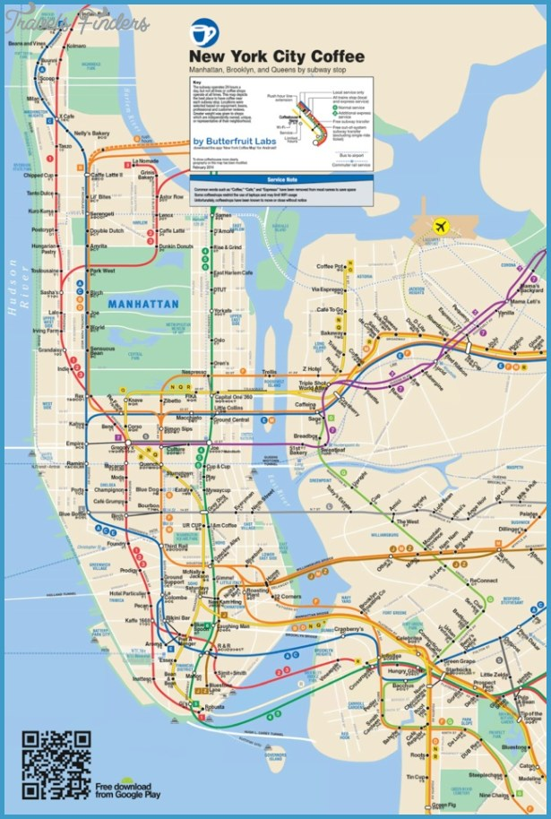 New York map queens manhattan - TravelsFinders.Com ® Queens Map Ny on