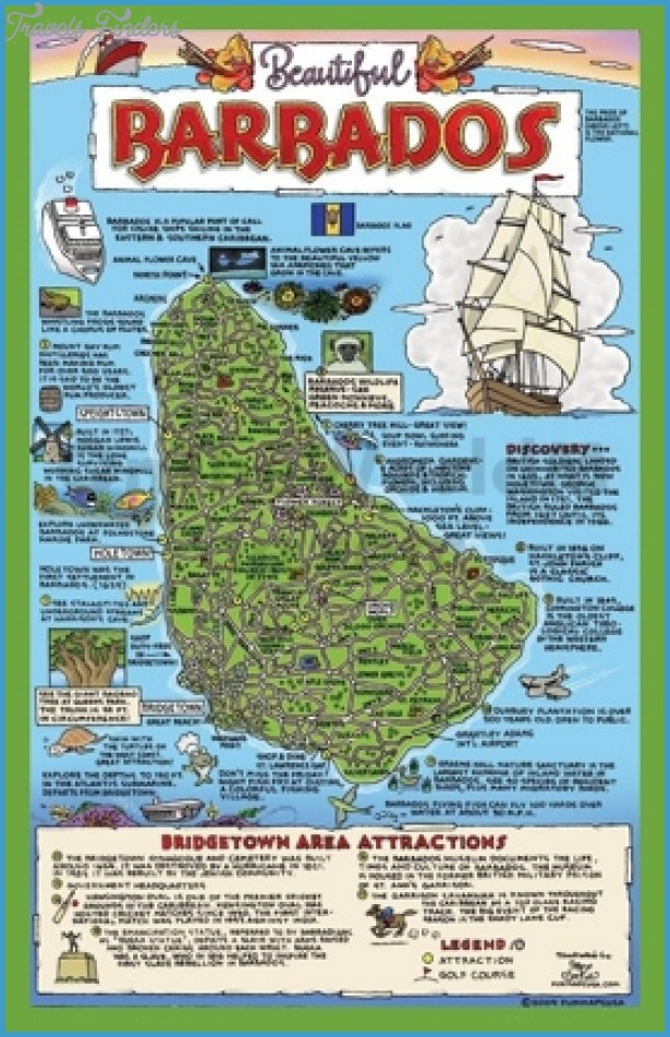 Caribbean Map Tourist Attractions Travel Map Vacations - Argentina map tourist
