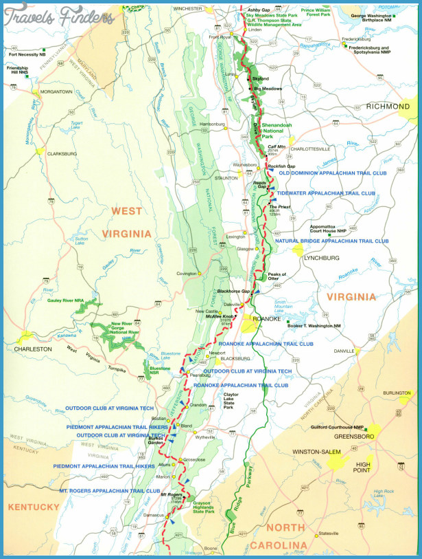 bear mountain appalachian trail map with Appalachian Trail on 2 Western North Carolina Maps further Shenandoah Maps in addition Northeastern coastal forests likewise ATinNewJersey besides C.