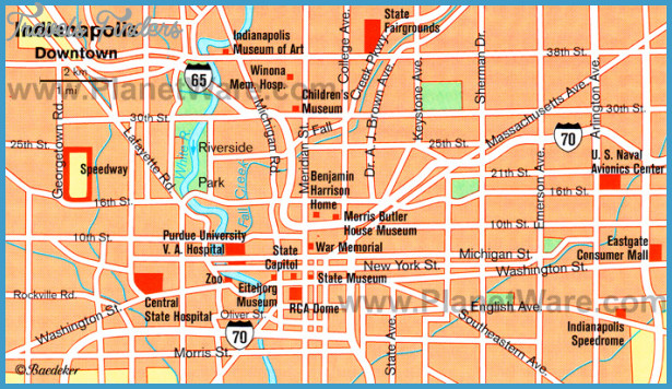 Indiana Map Tourist Attractions – Tourist Attractions Map In Indiana