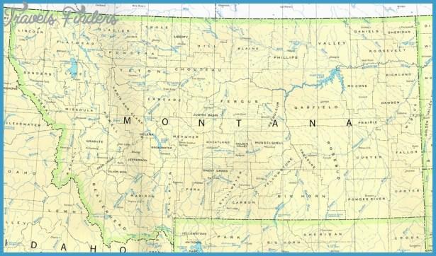 Montana Broker Properties: Montana Topo Map