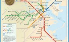 Subway Map Overlay.Boston T Map Overlay Archives Travelsfinders Com
