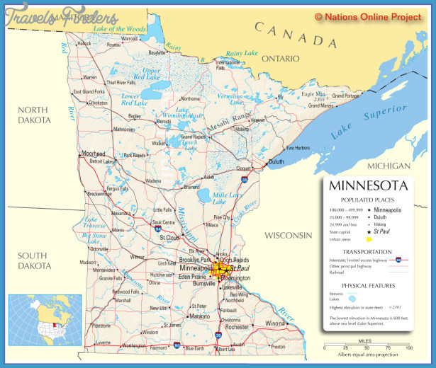 Minnesota Map Tourist Attractions – Minnesota Tourist Attractions Map