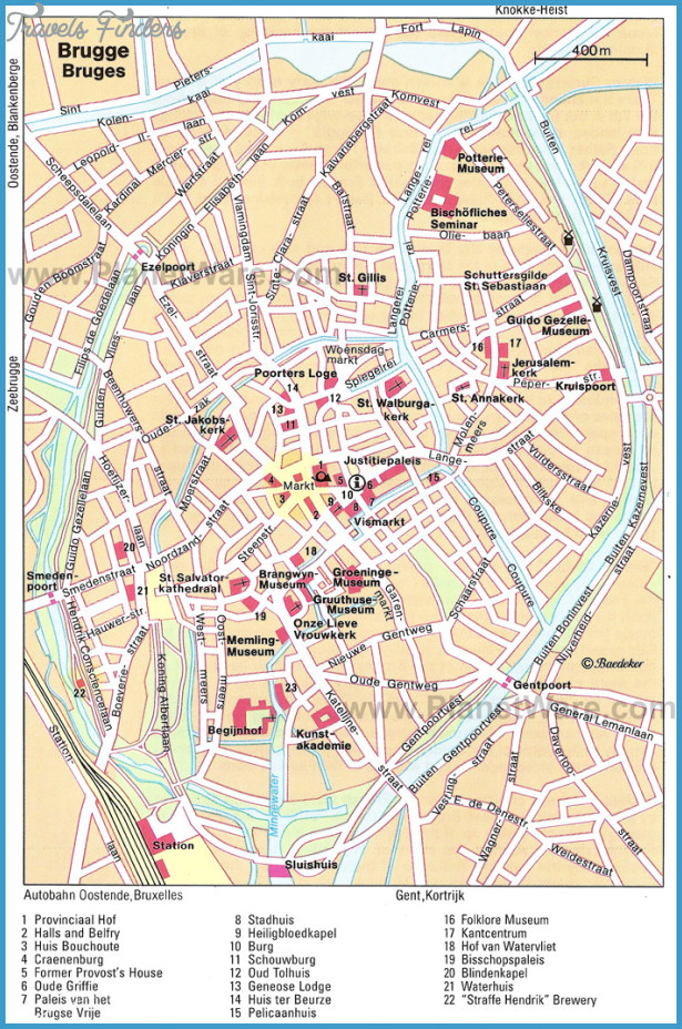 Bruges Map Tourist Attractions_0.jpg