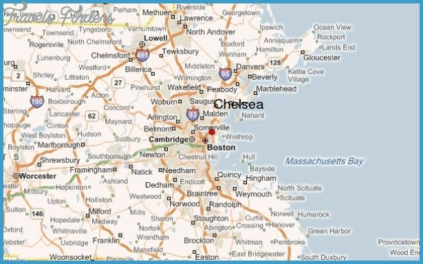 CHELSEA MAP - TravelsFinders.Com ® on