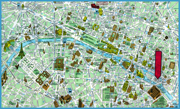 France Map Tourist Attractions – Tourist Attractions Map In France
