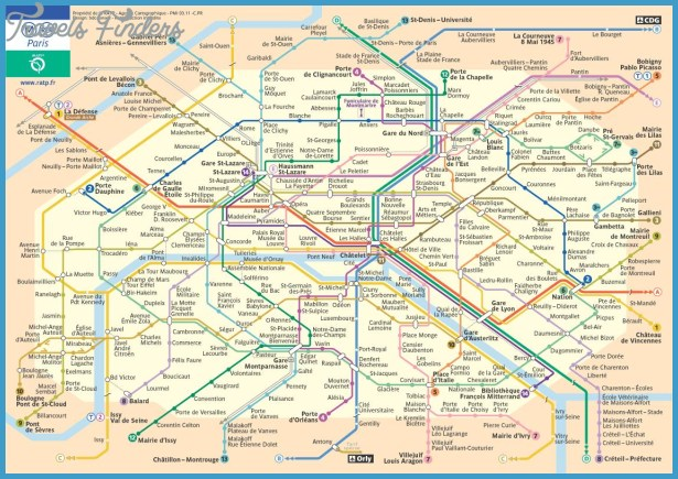 France Subway Map.France Subway Map Travelsfinders Com