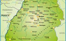 deutschland germany map Archives - TravelsFinders.Com ®