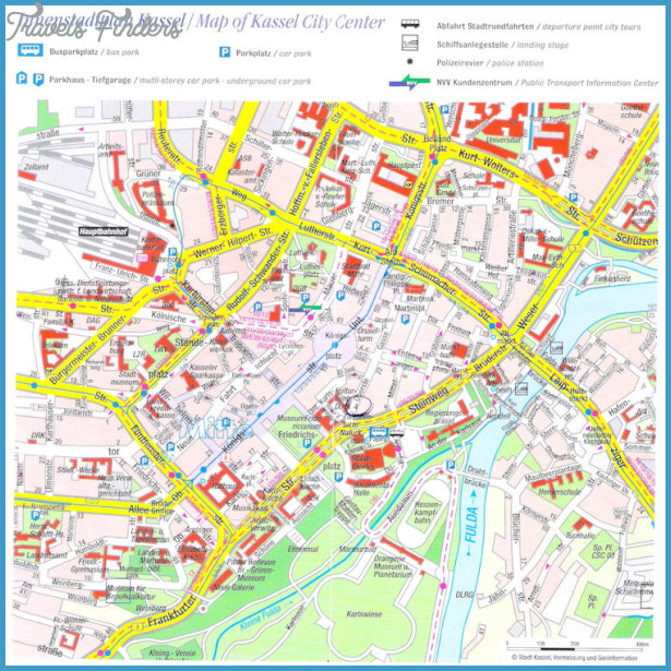 KASSEL MAP TravelsFindersCom