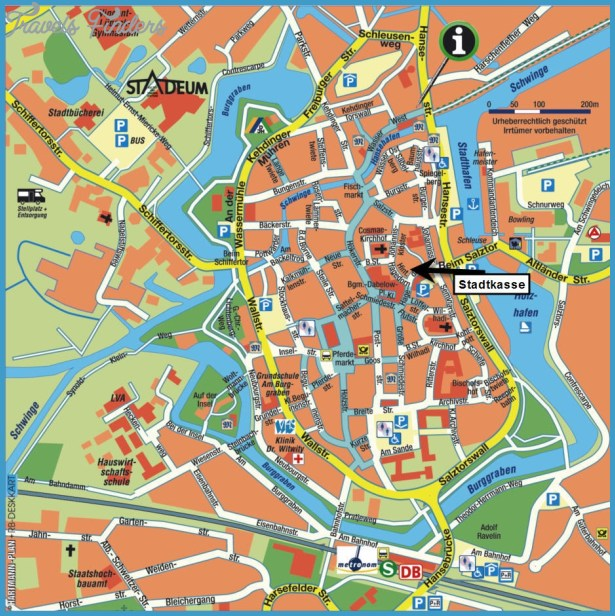 LUBECK MAP TravelsFindersCom