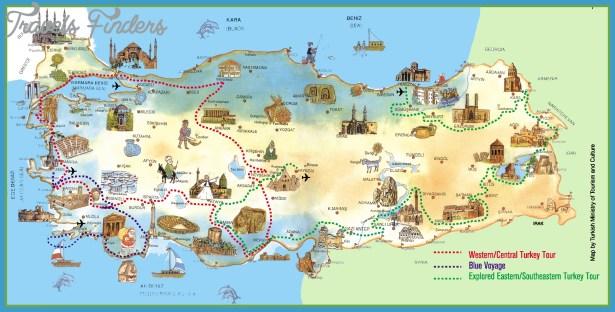 Munich Map Tourist Attractions TravelsFindersCom