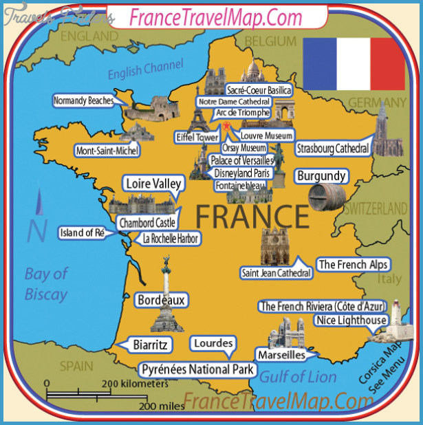 Nice France Map Tourist Attractions Travelsfinders Com