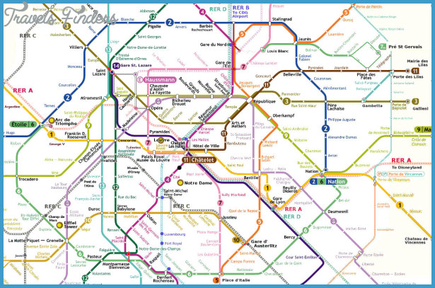 Nice France Subway Map Travelsfinders Com