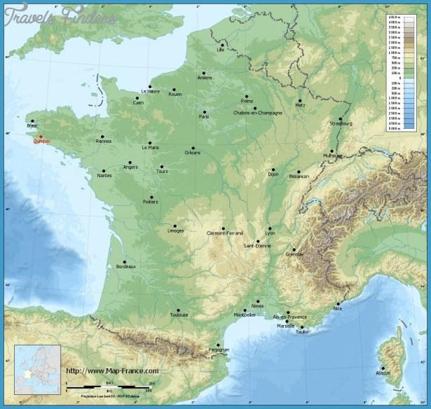 quimper map 1 QUIMPER MAP