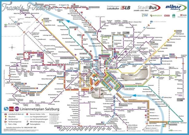 Salzburg Metro Map Travelsfinders Com