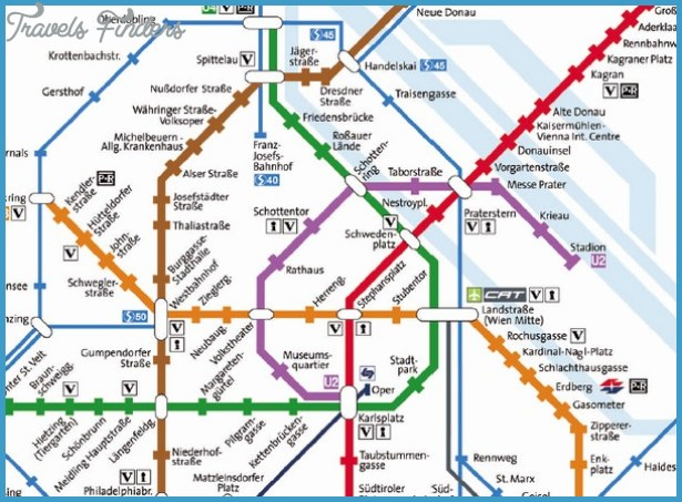 Salzburg Subway Map TravelsFindersCom