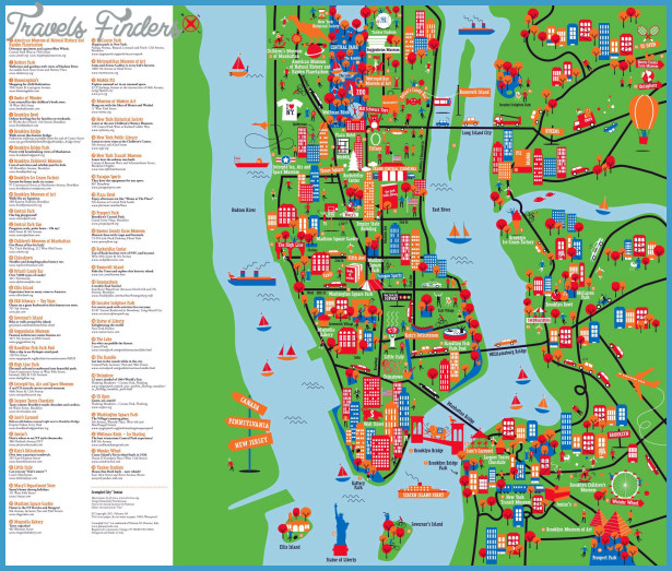 York Map Tourist Attractions