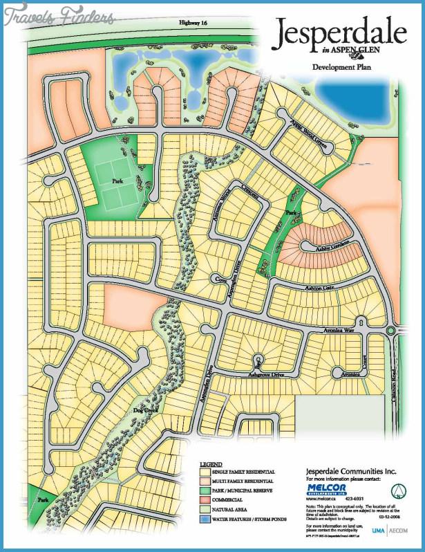 Spruce Grove Map Edmonton Travelsfinders Com