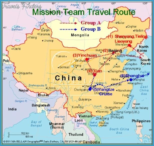 Map Of Northwest China TravelsFindersCom - Haicheng map