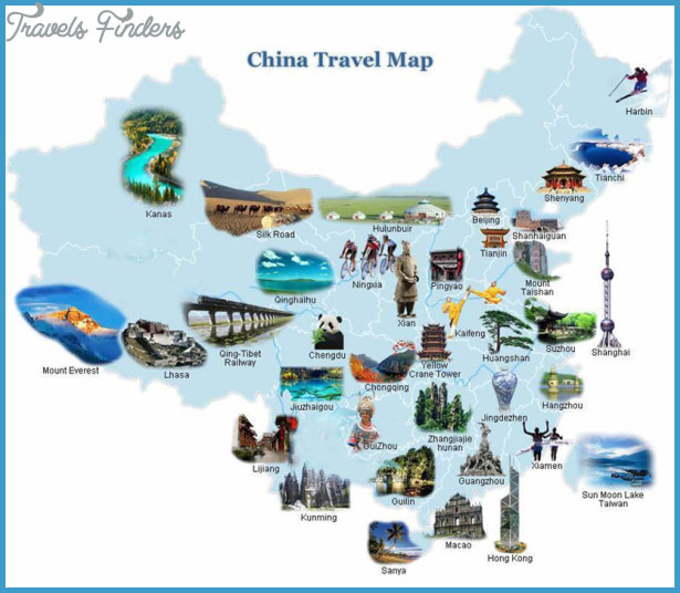 China Map In English