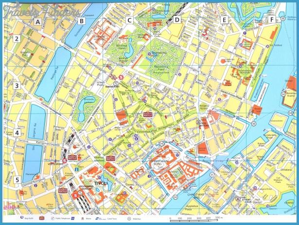 Copenhagen Map Travelsfinders Com