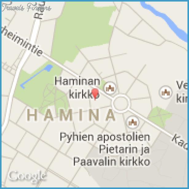 Hamina Fredrikshamn Finland Map TravelsFindersCom