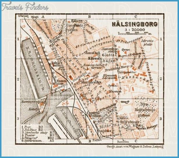 Helsingborg Halsingborg Sweden Map TravelsFindersCom