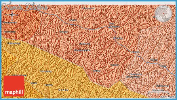 Huaian Map TravelsFindersCom - Huaian map