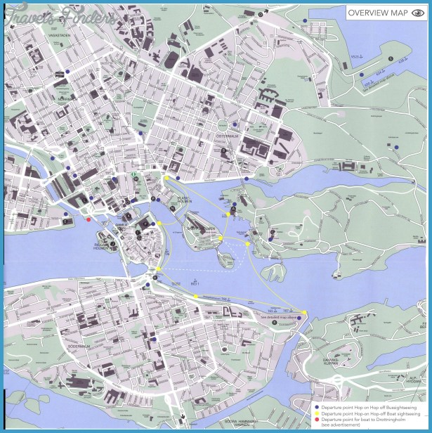 Lake Malar Sweden Map Travel Map Vacations TravelsFindersCom - Sweden map eskilstuna