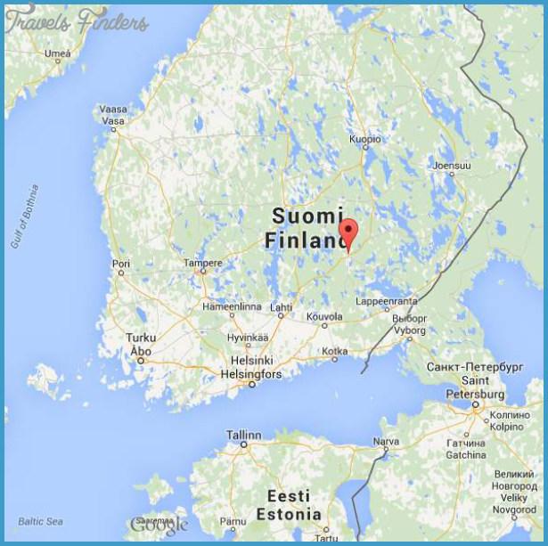 Mikkeli Sankt Michel Finland Map TravelsFindersCom