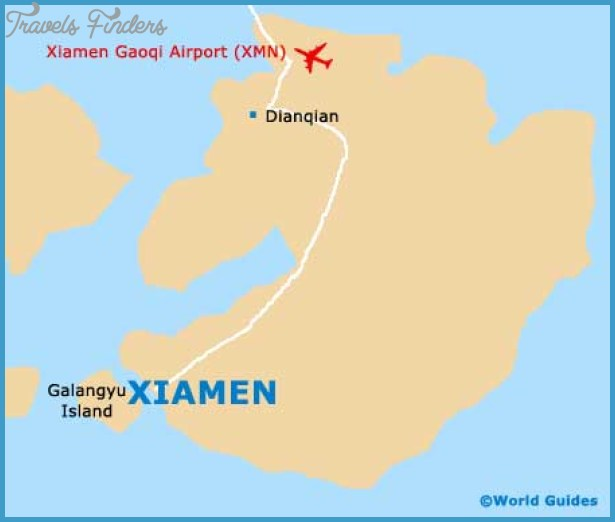 Xiamen Map Travelsfinders Com