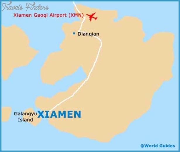 Xiamen China Map.Xiamen Map Travelsfinders Com
