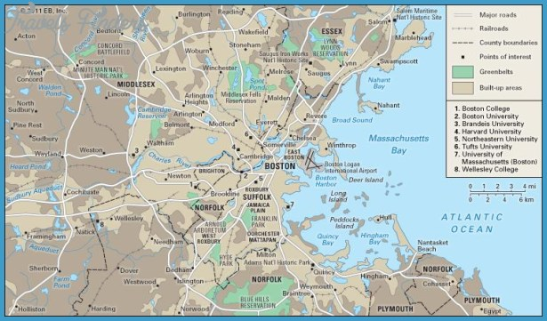 Boston Book Annex Us Map Phone Address Travelsfinderscom - Boston-on-a-us-map