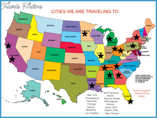 JAZZ AND BLUES MUSIC IN US US Map Phone Address Travel Map - Los angeles us map