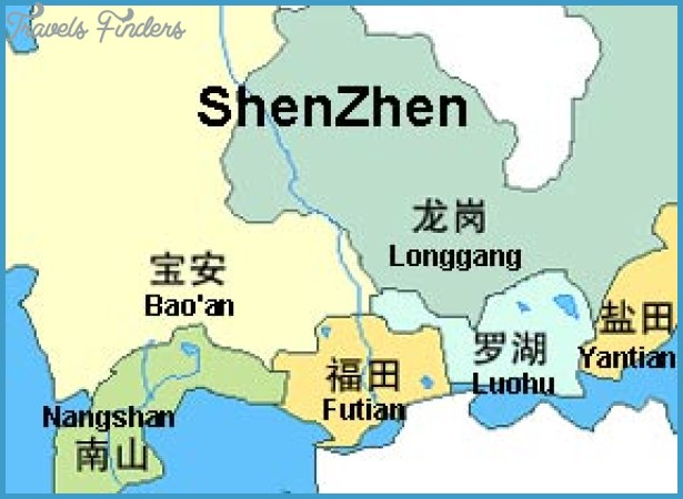 Shenzhen map china travelsfinders shenzhen mapg gumiabroncs Image collections