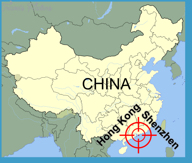 Shenzhen map of china travelsfinders shenzhen map of china10g gumiabroncs Image collections