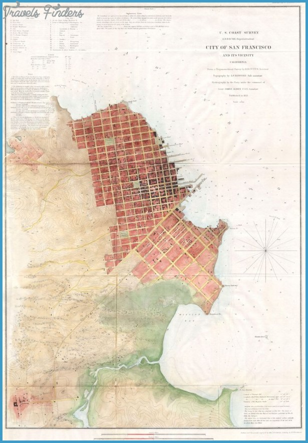 Map Of San Francisco United States USA Map In The Atlas Of US - San francisco on the us map