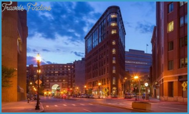 Boston Hotels Map - Best Hotels in Boston - TouristsBook