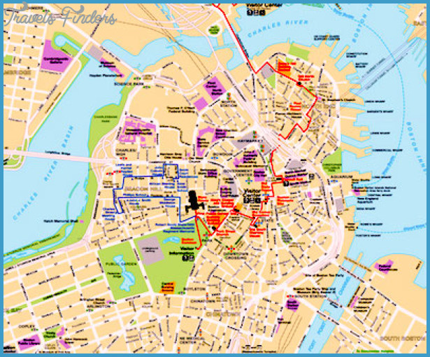 Theater Of Boston Us Map Phone Address Travelsfinderscom - Map-of-us-boston