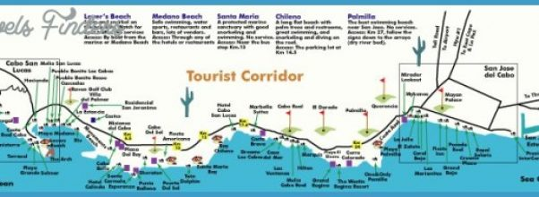 map of los cabos
