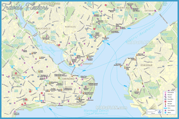 Map of Inner City Bangkok TravelsFindersCom