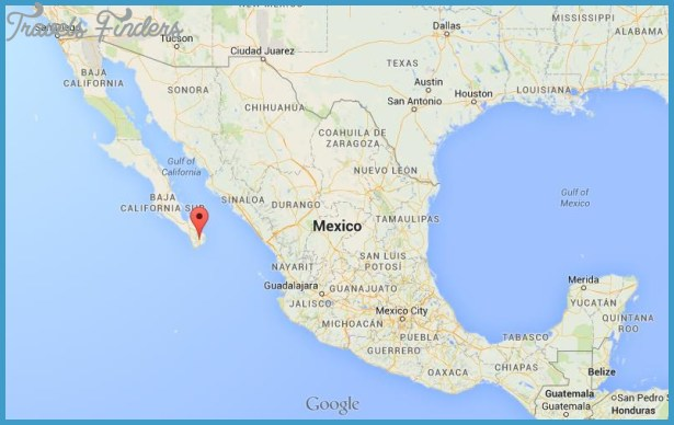 where is los cabos on map of mexico