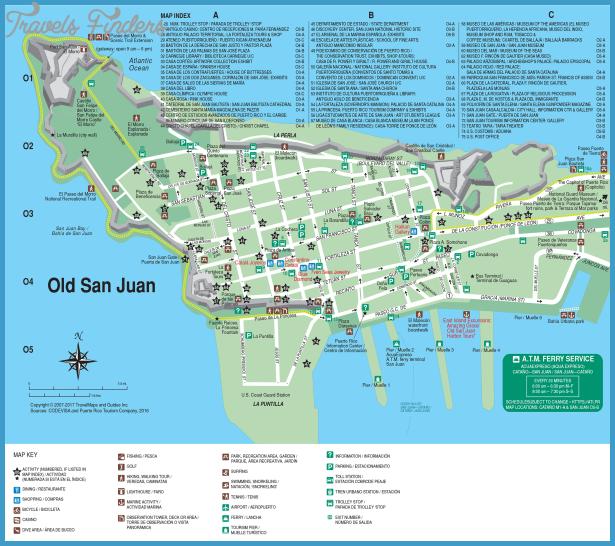 Walking Tour Old San Juan Map
