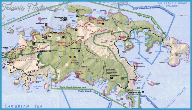 Saint John Map TravelsFindersCom