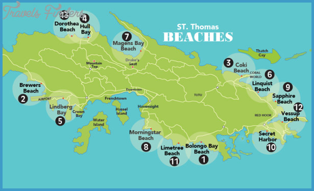 photo gallery of saint thomas map
