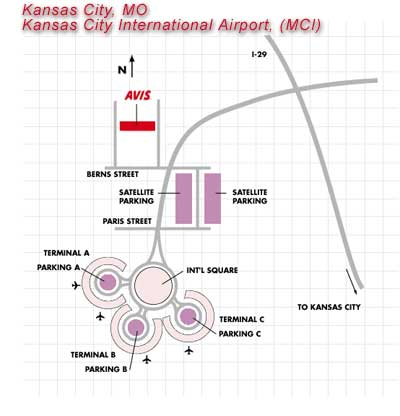 Kansas City Car Rental Airport